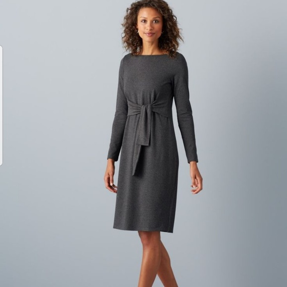 cd2a988119c J.jill Wearever Collection tie-front dress
